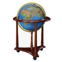 "16"" Lafayette Floor Globe"