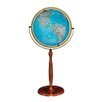 "16"" National Geographic Chamberlin Floor Globe"