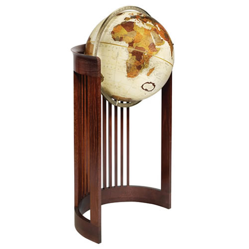 "16"" Barrel Floor Globe"