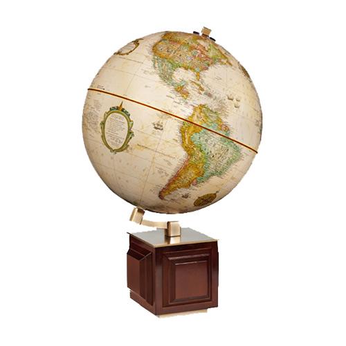 """12"""" Four Square Desk Globe"""