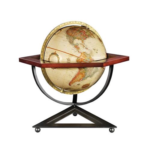 "12"" Hexagon Desk Globe"