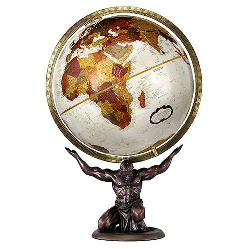 "12"" Atlas Desk Globe"