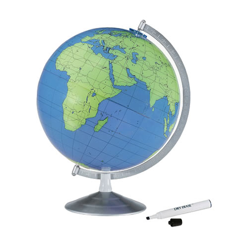 "12"" Geographer Desk Globe"