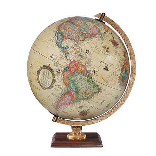 "12"" Carlyle Desk Globe"