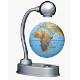 "3.5"" Levitating Desk Globe"