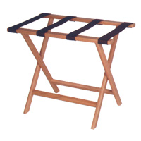 Deluxe Solid Oak Luggage Rack