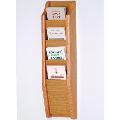 4 Pocket Brochure Rack
