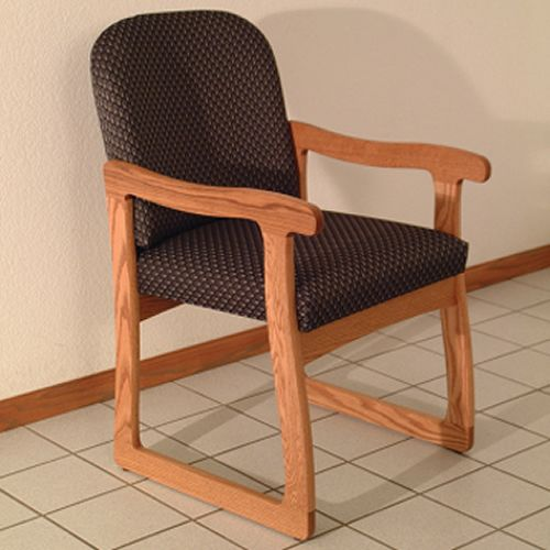 Prairie Guest Chair - Sled Base