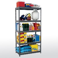 Boltless Rivet Steel Shelving