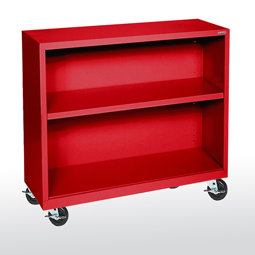 "Elite Welded Mobile Bookcases 18"" Depths"