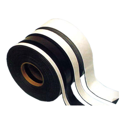 Magnetic strip adhesive backing