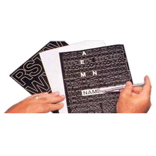 press on vinyl letters numbers punctuation marks With press on letters and numbers