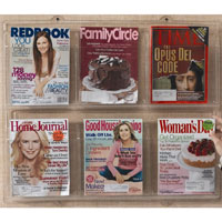 Clear-Vu Acrylic Pocket Magazine Holders