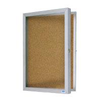 Economy Series Aluminum Enclosed Bulletin Boards