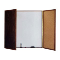 Value Laminate Conference Room Cabinet with Non-Magnetic White Markerboard