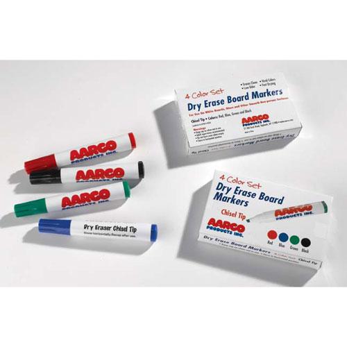 Aarco Dry Erase Marker Set