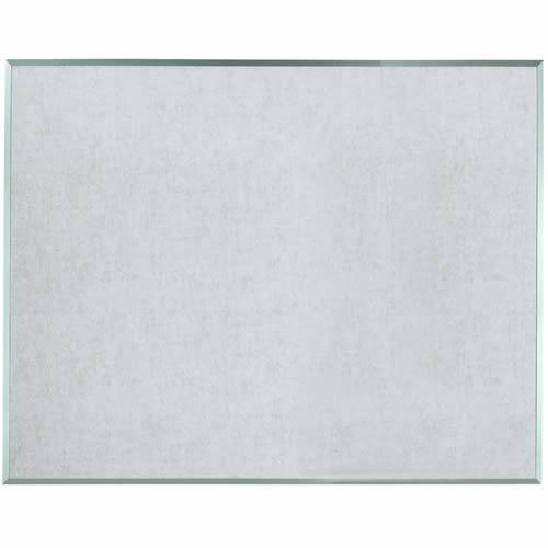 Standard Series Burlap-Weave Vinyl Covered Bulletin Boards