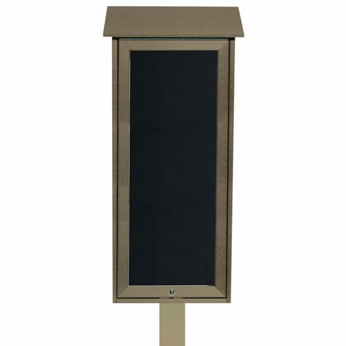 "Park Ranger ""Outpost"" Series Letter Board with Mounting Post"