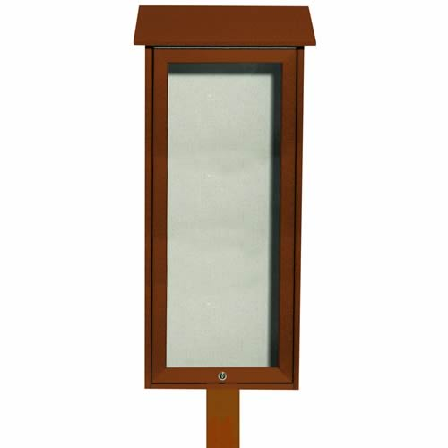 "Park Ranger ""Outpost"" Series Bulletin Board with Mounting Post"