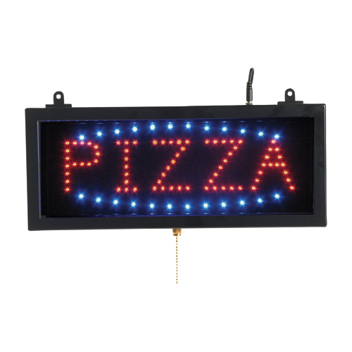 PIZZA - LED Window Sign