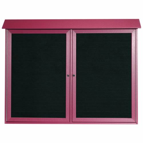Park Ranger Series Two Door Hinged Door Letter Board