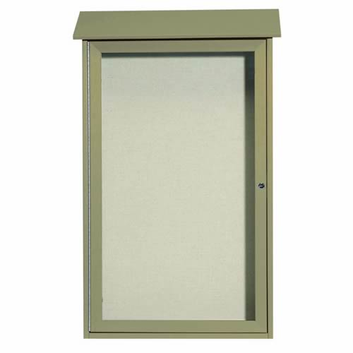 Park Ranger Series Single Hinged Door Bulletin Board