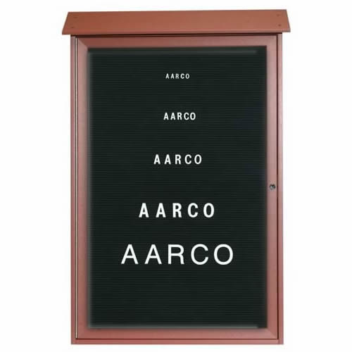 Park Ranger Series Single Hinged Door Letter Board