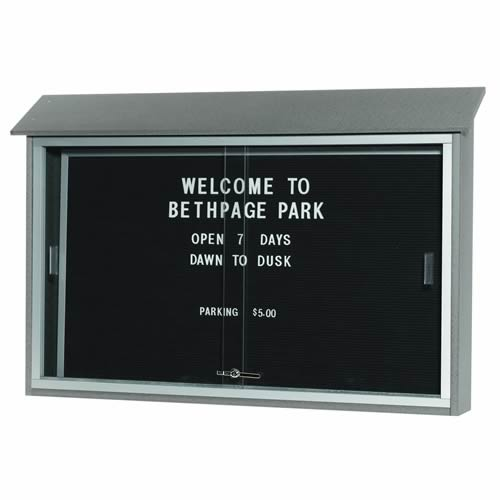 Park Ranger Series Sliding Door Letter Board