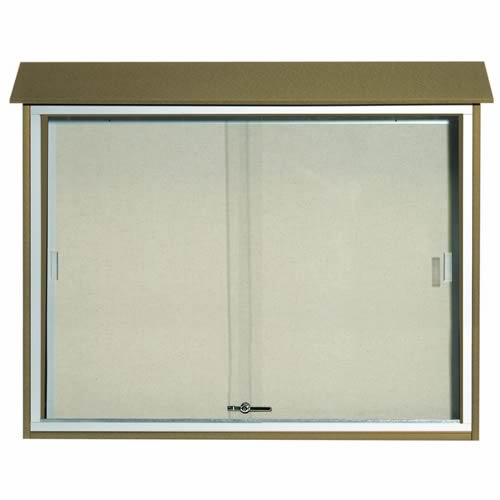 Park Ranger Series Sliding Door Bulletin Board
