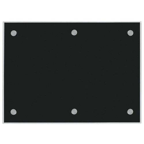 Pure Black Glass Markerboard