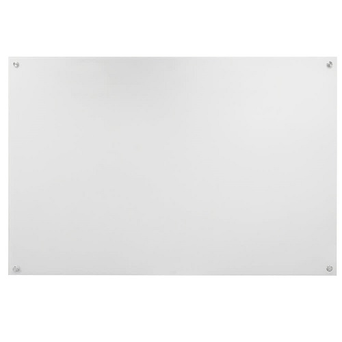 Pure White Non-Magnetic Glass Markerboard