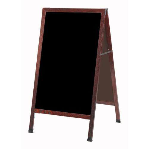 A-Frame Sidewalk Black Markerboards