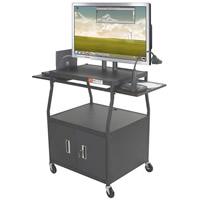 Wide Body Flat Panel TV Cart