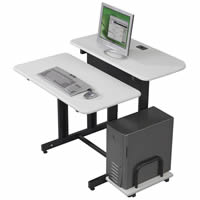 Split Level Workstations