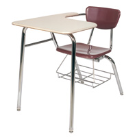3000 Series Martest 21&reg; Large Top Combo Desk