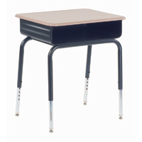 785 Series Metal Book Box Student Desk