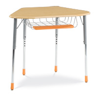 ZUMA® Series Hexagonal Student Desk