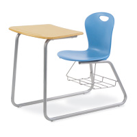 ZUMA® SledCombo™ Chair Desk