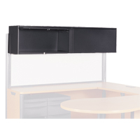 Plateau® Overhead Storage Unit, Screen, and Task Lights
