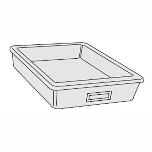 Tote Tray for Mobile Cabinets