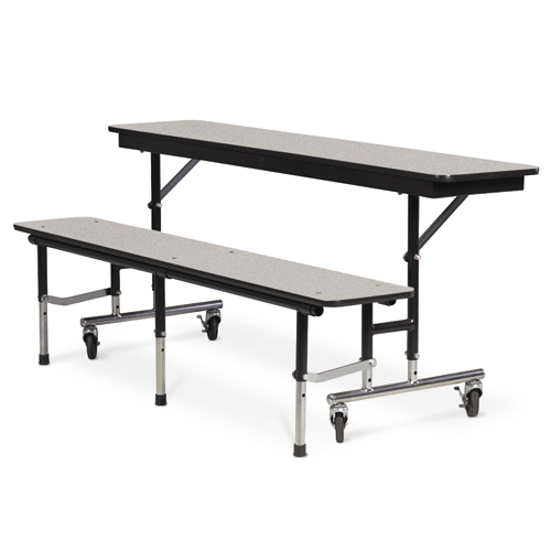 Convertible bench table and ganging kit Convertible bench