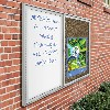Weather Sentinel Outdoor Bulletin Board