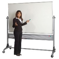 Free Standing Mobile & Rolling Whiteboards.  Magnetic, Laminate and Music Staff Lines.  Quick Delivery Available
