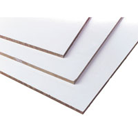 "Unframed 1/4"" Magnetic Whiteboard Material"