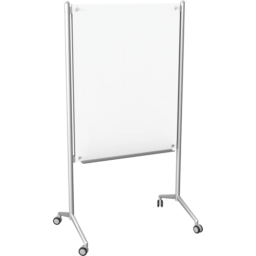 Enlighten™ Mobile Glass Dry Erase Whiteboard