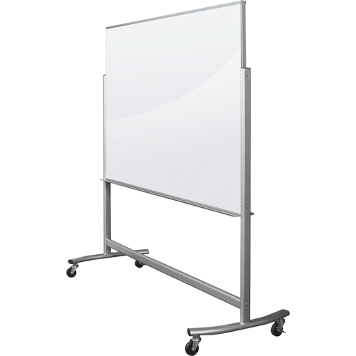 Visionary® Move Mobile Magnetic Glass Whiteboard