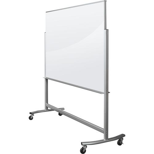 visionary move mobile magnetic glass whiteboard. Black Bedroom Furniture Sets. Home Design Ideas