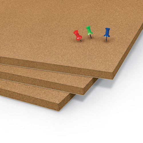 Colored Cork Self-Adhesive Skins