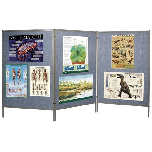 Mobile Floor Display Panels