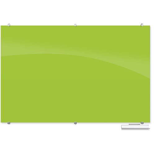 Visionary® Colors Magnetic Glass Dry Erase Whiteboard